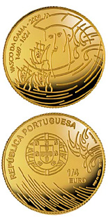 Image of a coin 0.25 euro | Portugal | Vasco da Gama | 2009