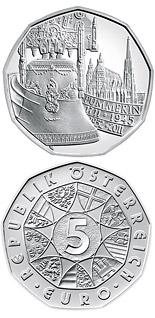 5 euro coin The Pummerin Bell 1711-2011 | Austria 2011