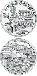 20 euro South Railways Vienna-Triest - 2007 - Series: Austrian Railways - Austria