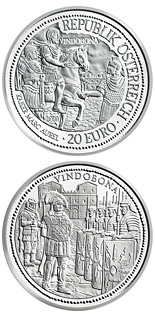 20 euro Vindobona - 2010 - Series: Rome on the Danube - Austria