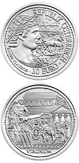 20 euro Virunum - 2010 - Series: Rome on the Danube - Austria