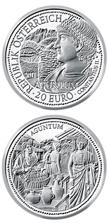 20 euro Aguntum - 2011 - Series: Rome on the Danube - Austria