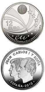 12 euro Spain's Presidency of the EU - 2010 - Series: Silver 12 euro and 20 euro coins - Spain