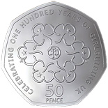 50 pence 2010 Girlguiding UK 50p Centenary Coin - 2010 - Series: Commemorative 50 pence - United Kingdom